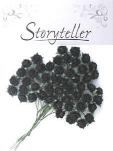 Bilde av Storyteller - Rose - Svart - 10mm - 1418