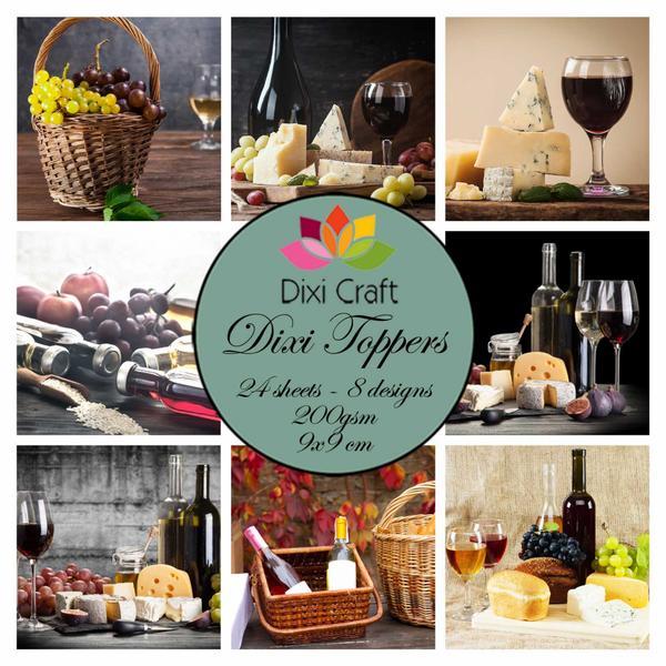 Dixi Craft - Dixi toppers - ET0317 -  Wine