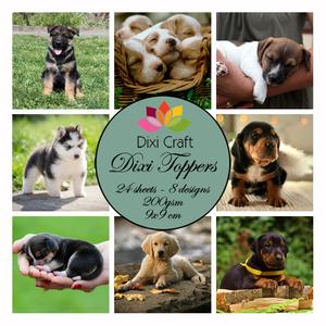 Bilde av  Dixi Craft - Dixi toppers - ET0243 - Puppies