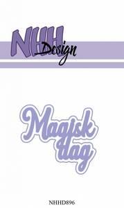 Bilde av NHH Design - NHHD896 - Dies - Magisk dag