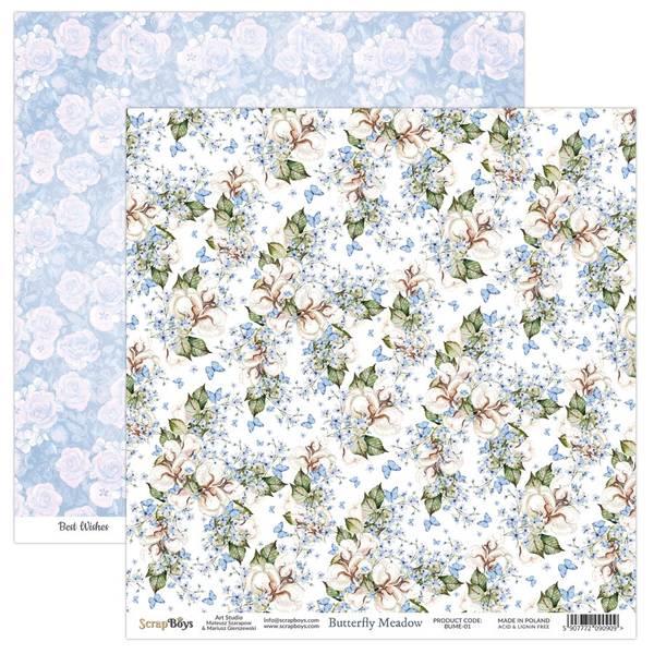 ScrapBoys - Butterfly Meadow - 12x12 - BUME-01