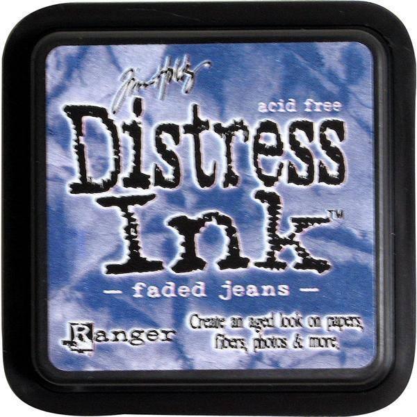 Distress Dye Ink pad - Faded Jeans