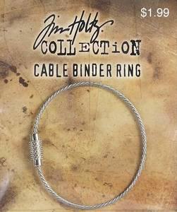 Bilde av Tim Holtz - Cable Binder Ring - 1 stk