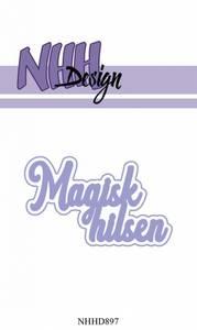 Bilde av NHH Design - NHHD897 - Dies - Magisk hilsen