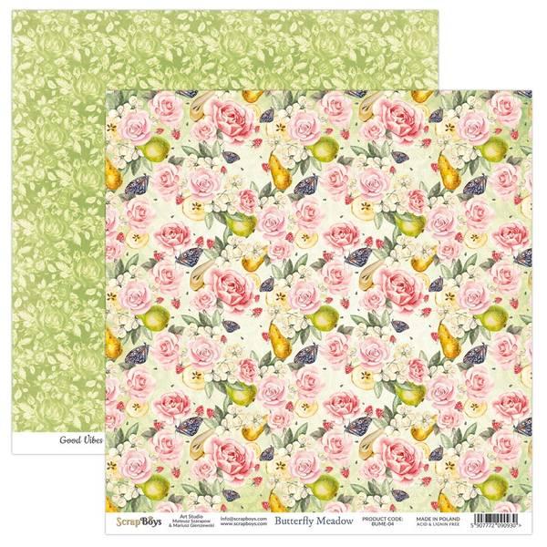 ScrapBoys - Butterfly Meadow - 12x12 - BUME-04