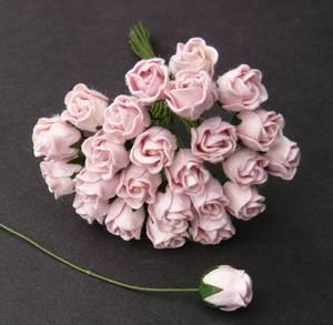 Bilde av Flowers - Hip Rosebuds - SAA-470 - Pale Pink - 50stk