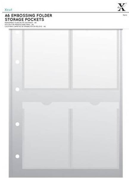 Xcut - XCU 245104 - A4 Storage Folder Wallets - A6 - 5stk