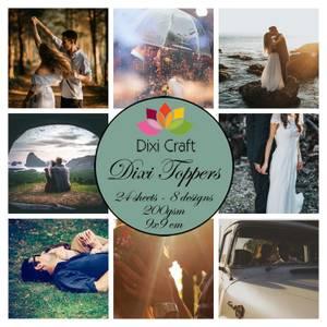 Bilde av  Dixi Craft - Dixi toppers - ETL027 -  Couples
