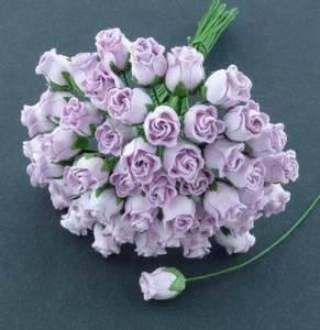 Bilde av Flowers - Hip Rosebuds - SAA-097 - Lilac - 50stk