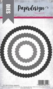 Bilde av Papirdesign Dies PD18414 - Sirkler, bølgekant