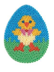 Bilde av Perlebrett - Hama - Eggformet