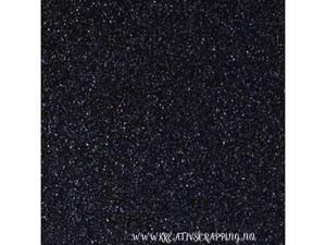 Bilde av BC Glitter Cardstock - 12x12 - 014 - Black