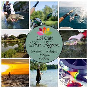 Bilde av  Dixi Craft - Dixi toppers - ET0325 - Fishing 2