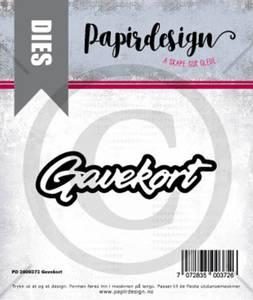 Bilde av Papirdesign Dies PD2000372 - Gavekort