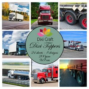 Bilde av  Dixi Craft - Dixi toppers - ET0333 - Trucks
