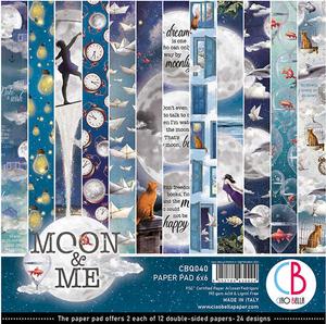 Bilde av Ciao Bella - 040 - 6x6 Paper Pad - Moon & Me