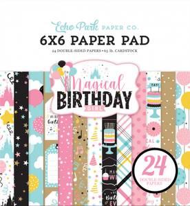 Bilde av Echo Park - Magical Birthday Girl - 6x6 Paper Pad
