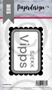 Bilde av Papirdesign Dies PD2000376 - Vipps
