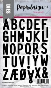 Bilde av Papirdesign Dies PD2000393 - Alfabet ABC
