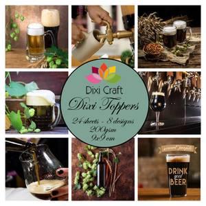 Bilde av  Dixi Craft - Dixi toppers - ET0339 - Beer 2