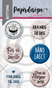 Bilde av Papirdesign - Buttons - 2000464 - Broderi
