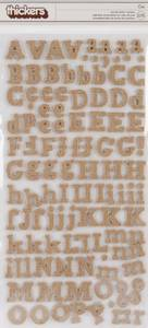 Bilde av Thickers - 53460 - Fabric Chipboard - Burlap - Eric