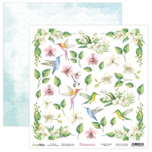 Bilde av ScrapBoys - Primavera - 12x12 - PRIM-07 Die Cut Sheet