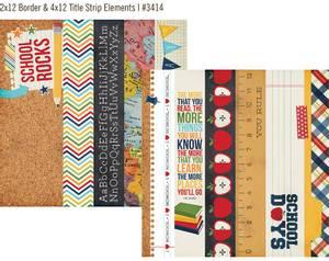 Bilde av Simple Stories - 3414 - Smarty Pants - 2x12 & 4x12 Title Strip