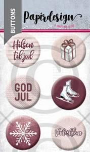 Bilde av Papirdesign - Buttons - 2000466 - God jul 4
