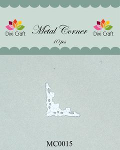 Bilde av Dixi Craft - Metal Corner - MC0015 - White