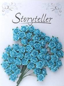 Bilde av Storyteller - Rose - Blå - 14mm - 1616