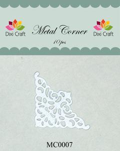 Bilde av Dixi Craft - Metal Corner - MC0007 - White