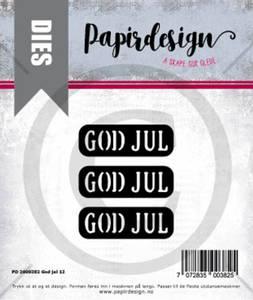 Bilde av Papirdesign Dies PD2000382 - God jul 12