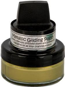 Bilde av Cosmic Shimmer - Metallic Gilding Polish - Golden Olive