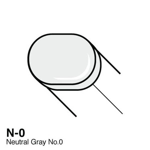 Copic - Sketch Marker - N-0 - NEUTRAL GRAY