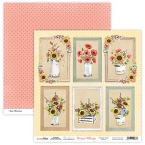Bilde av ScrapBoys - Sunny Village - 12x12 - SUVI-06 - Picture Sheet