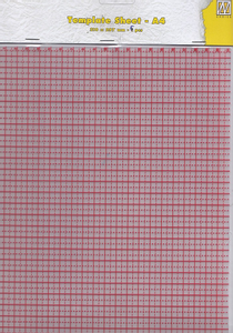 Bilde av Nellie Snellen - Plastic Template sheets A4 -5pk -Stamping Buddy