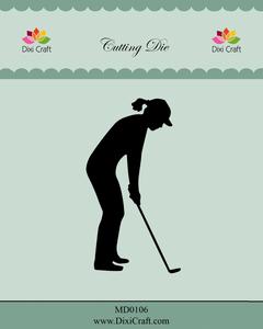 Bilde av Dixi Craft - Dies - MD0106 - Female Golf Player