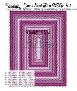 Bilde av Crealies - Crea-Nest-Lies XXL 52 - Rectangles with double