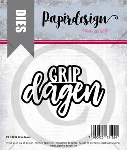 Bilde av Papirdesign Dies PD19192 - Grip dagen