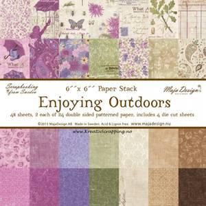 Bilde av Maja Design -  793 - Paper pad 6x6 - Enjoying Outdoors