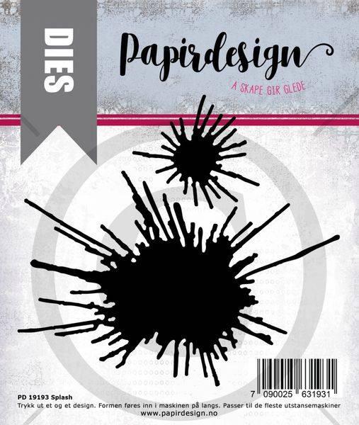 Papirdesign Dies PD19193 - Splash