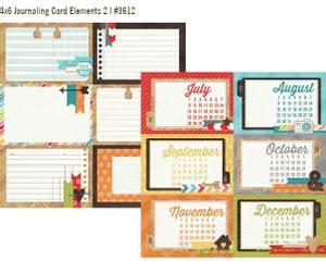 Bilde av Simple Stories - 3612 - Daily Grind - 4x6 Journaling card 2