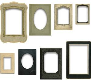 Bilde av Tim Holtz - Idea-Ology - TH93710 - Baseboard Frames (8pcs)