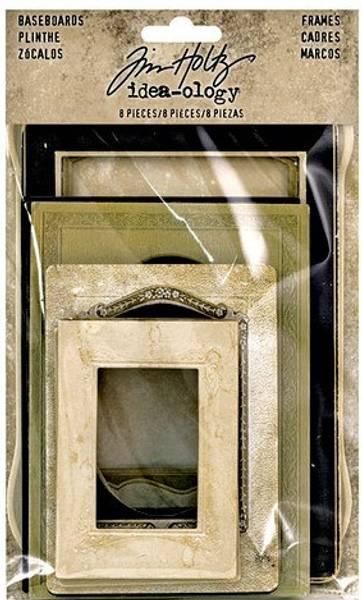 Tim Holtz - Idea-Ology - TH93710 - Baseboard Frames (8pcs)