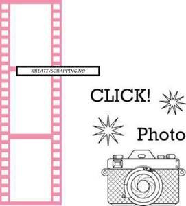 Bilde av Marianne Design - Collectable dies - COL1390 - Filmstrip m/stemp