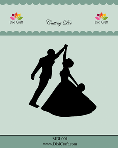 Bilde av Dixi Craft - Dies - MDL001 - Wedding Couple