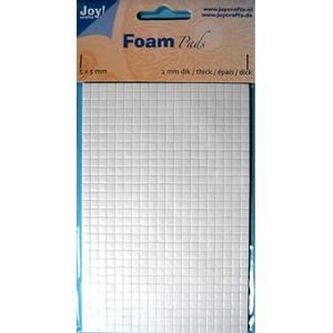 Bilde av Joy Crafts - 6500-0003 Foam Pads - White - 5x5mm - h: 2mm