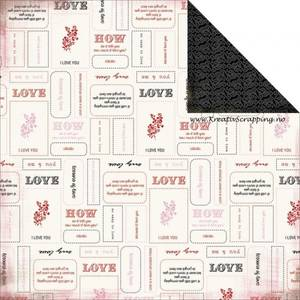 Bilde av Carta Bella - 12x12 - Words of Love 38013 - LESSON IN LOVE