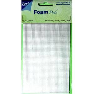 Bilde av Joy Crafts - 6500-0011 Foam Pads - White - 2,5x2,5mm - h: 1mm